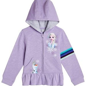 Disney Girls Frozen Jacket and Shirt Set NWT